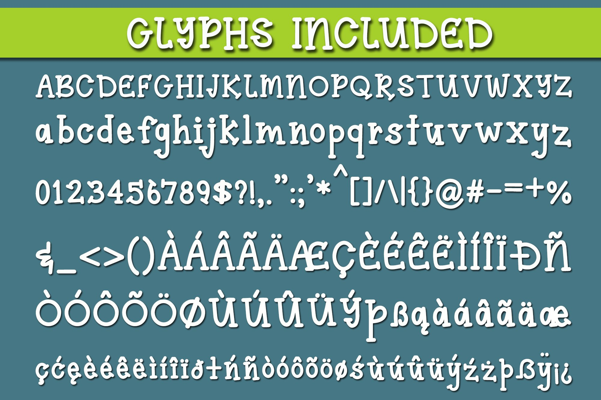 2019 Font Bundle example image 3