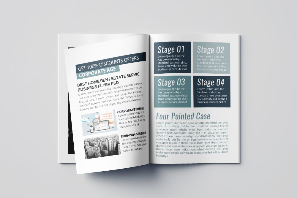 Business Bifold Brochure 16 Pages example image 6