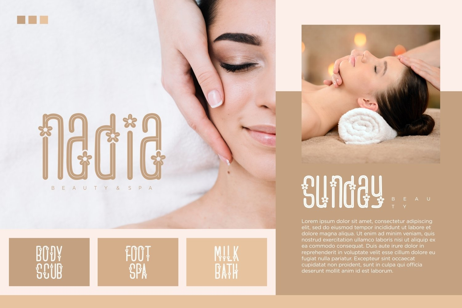 Flower Spa - Beautiful Display Font example image 4