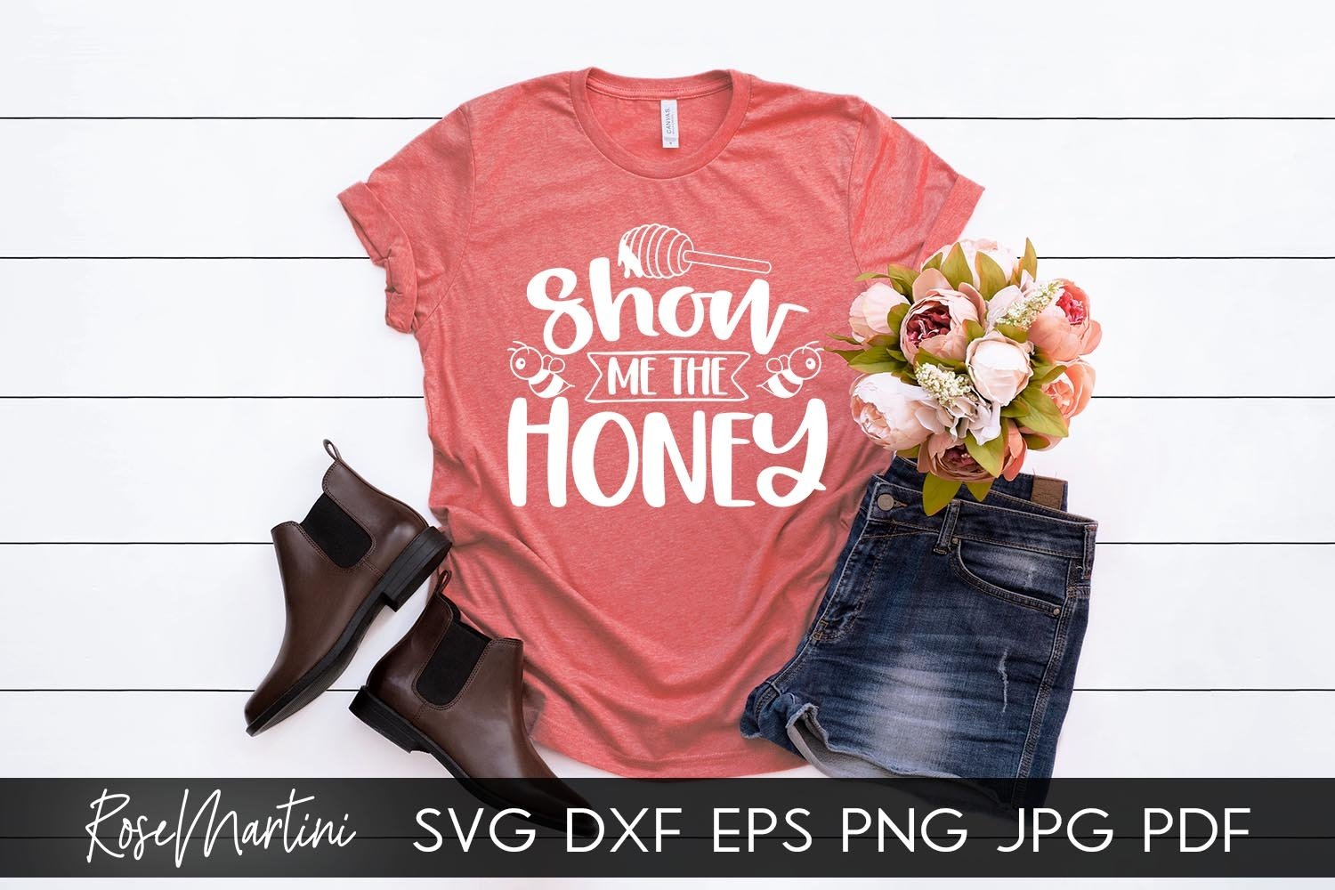 Show Me The Honey SVG Queen Bee SVG Bee Pun Bumble Bee SVG example image 6