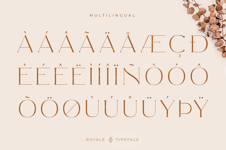 Royale Luxurious Typeface example image 17