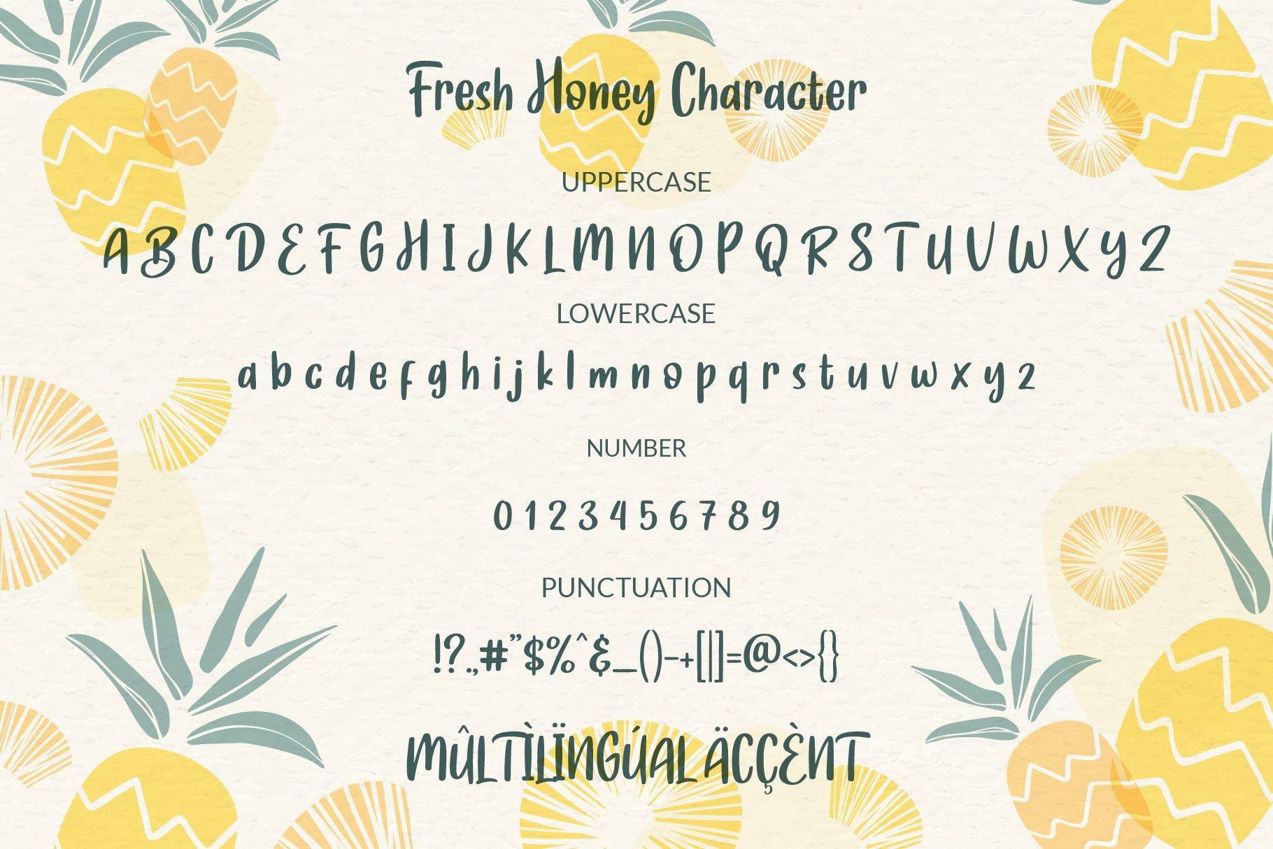 Fresh Honey example image 8