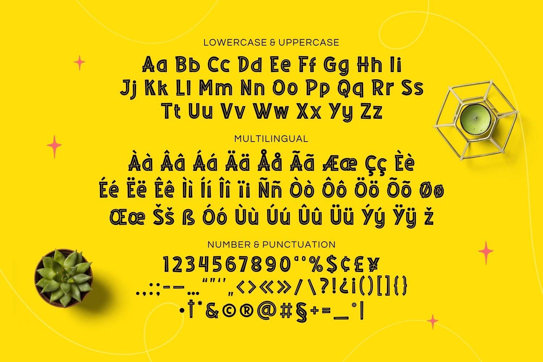 Bidlend - Playful Display Font example image 5