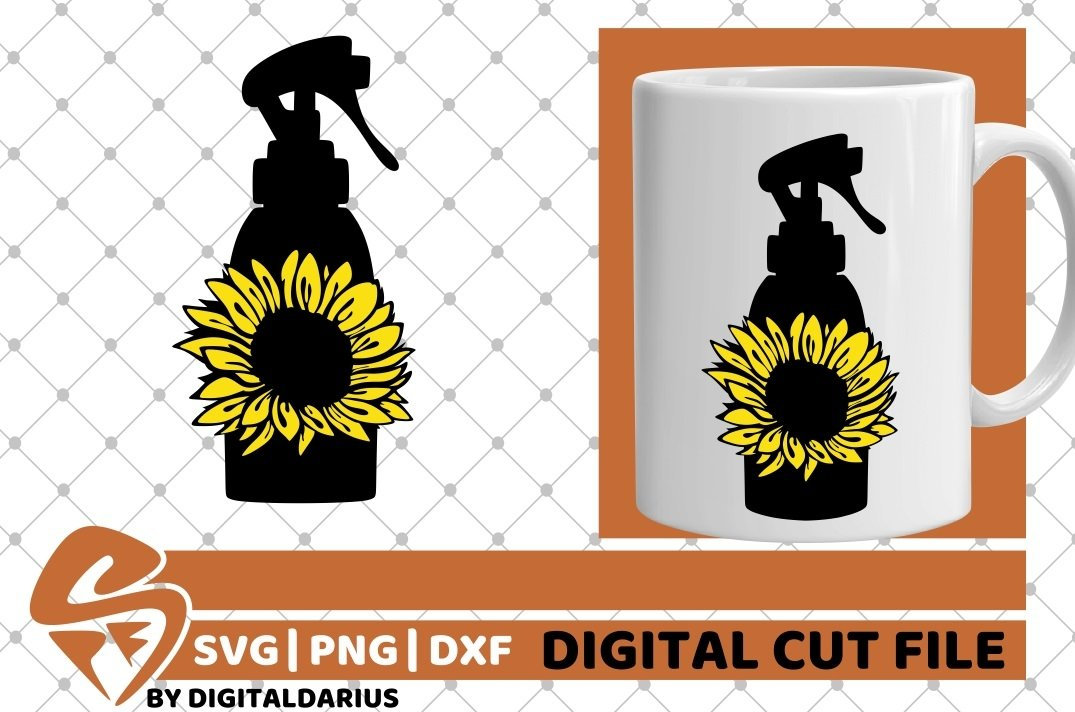 6x Hairdresser Designs Bundle svg, Sunflower, Hairstylist example image 6