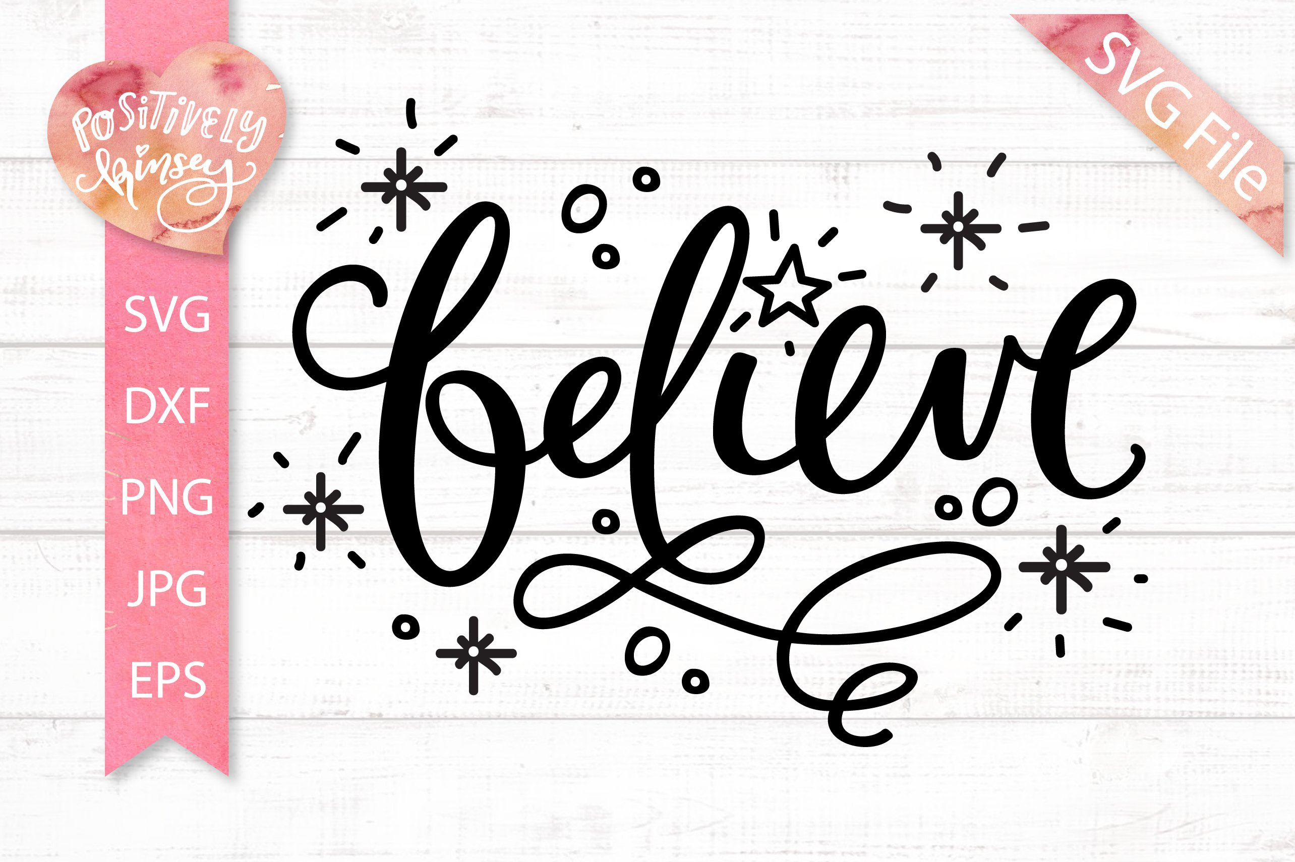 Believe Svg Dxf Png Eps Christmas Svg File Santa Svg Faith 350906 Svgs Design Bundles