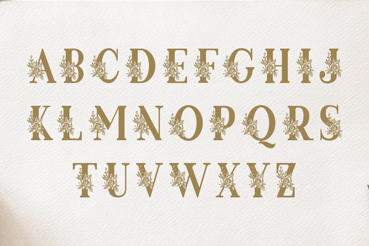 Rosena Monogram example image 3