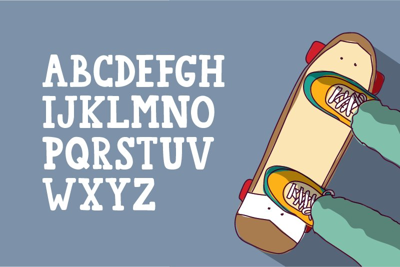 College Star Font Duo | LoveSVG example image 3