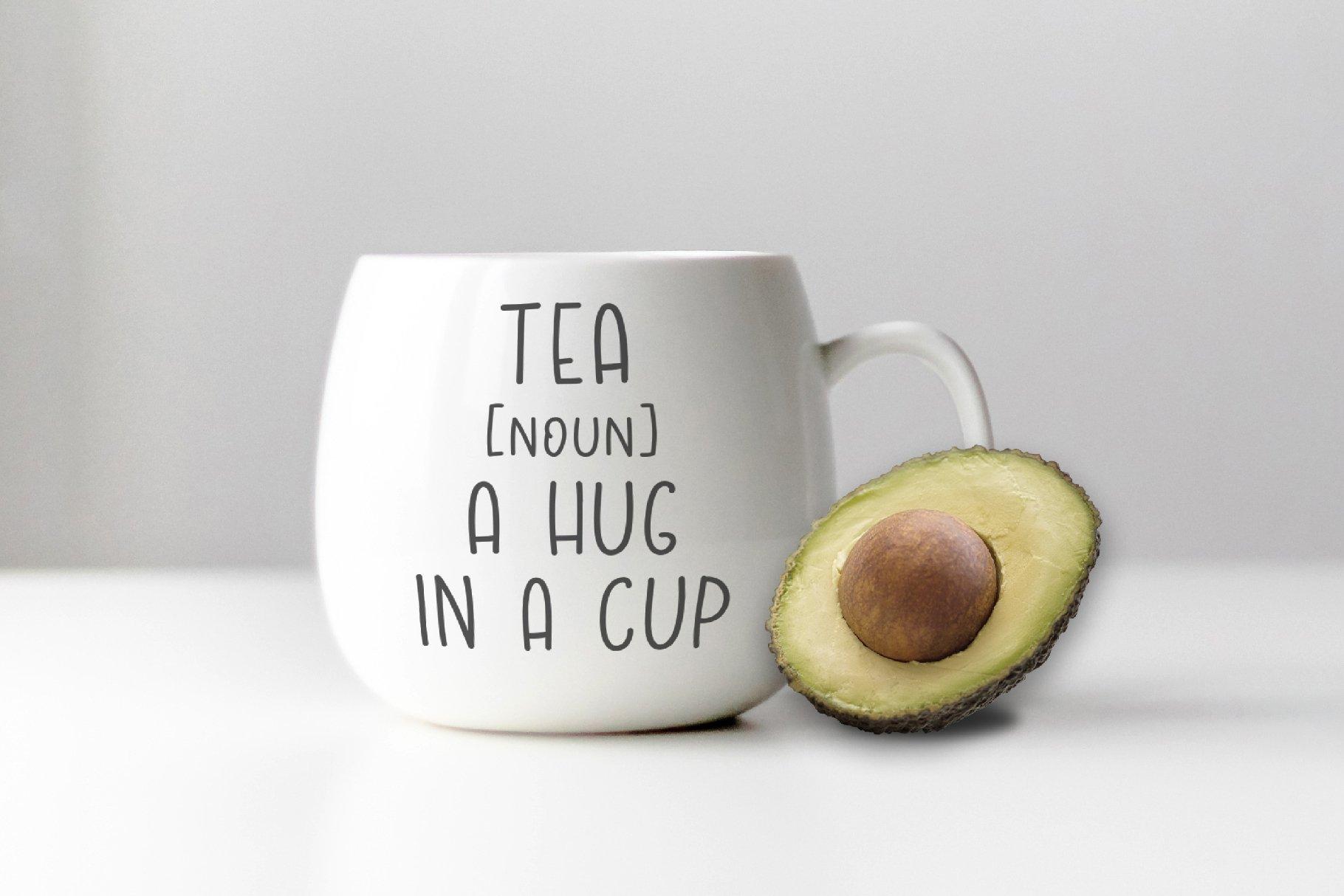 Avocado font example image 6