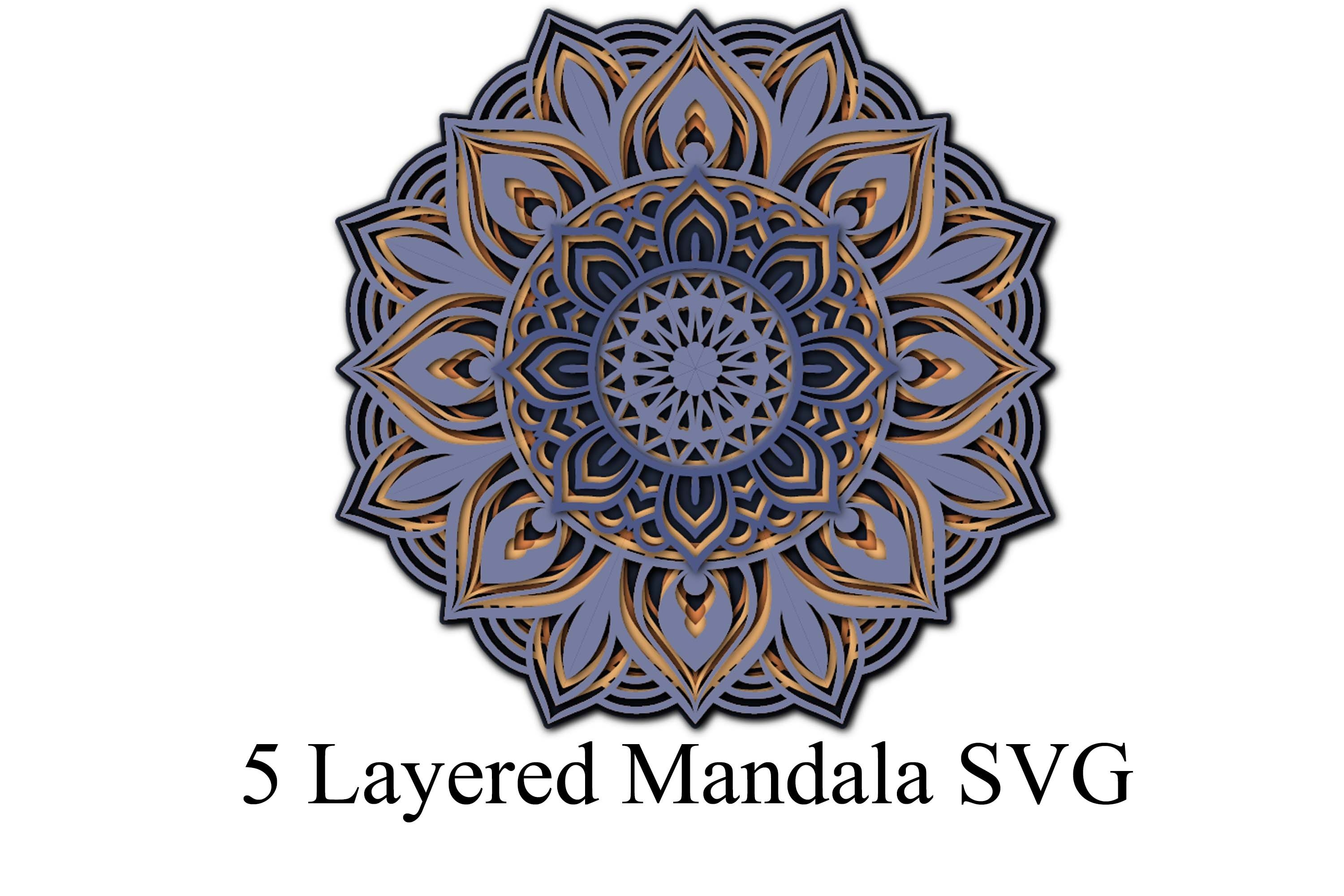 Download Free Download Svg Cut Files For Cricut And Silhouette Free 3d Mandala Svg Files For Cricut