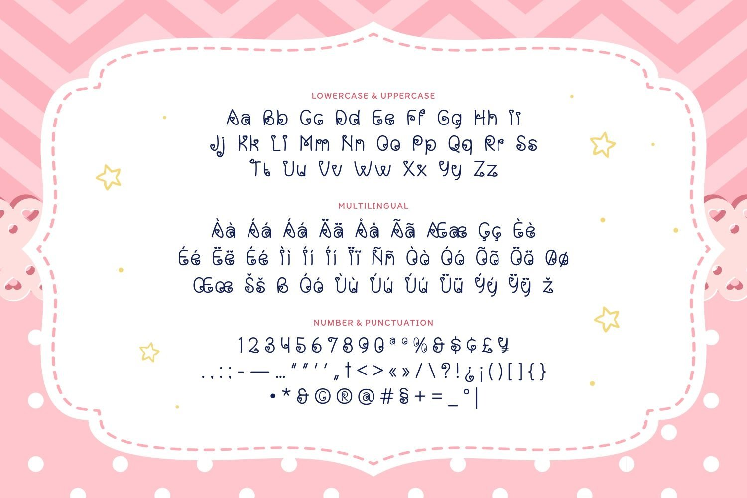 Baby Girl - Cute & Playful Display Font example image 5