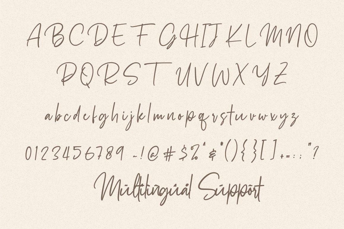 Docherty - Casual Signature Font example image 9