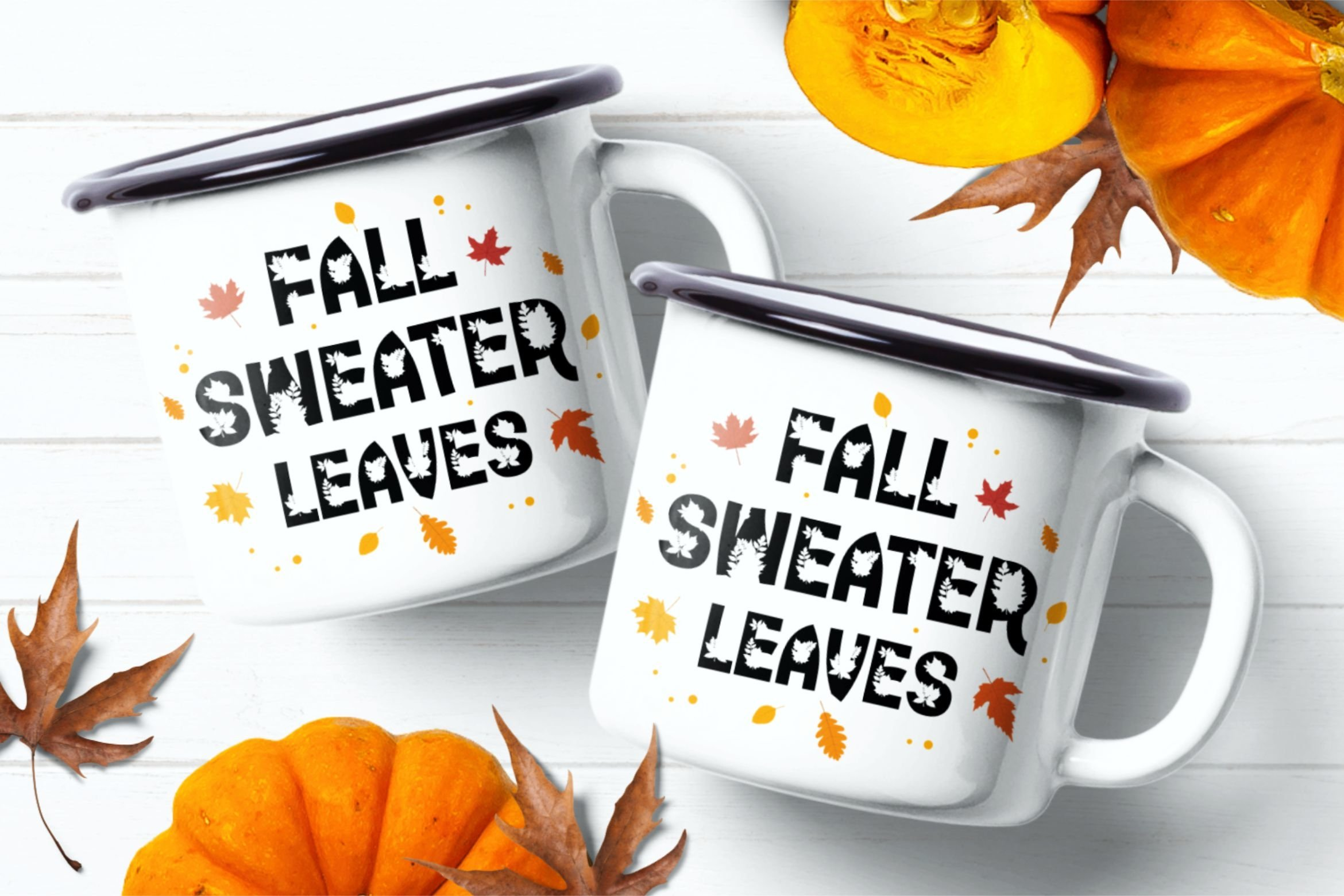 Time Too Leaf Font example image 2
