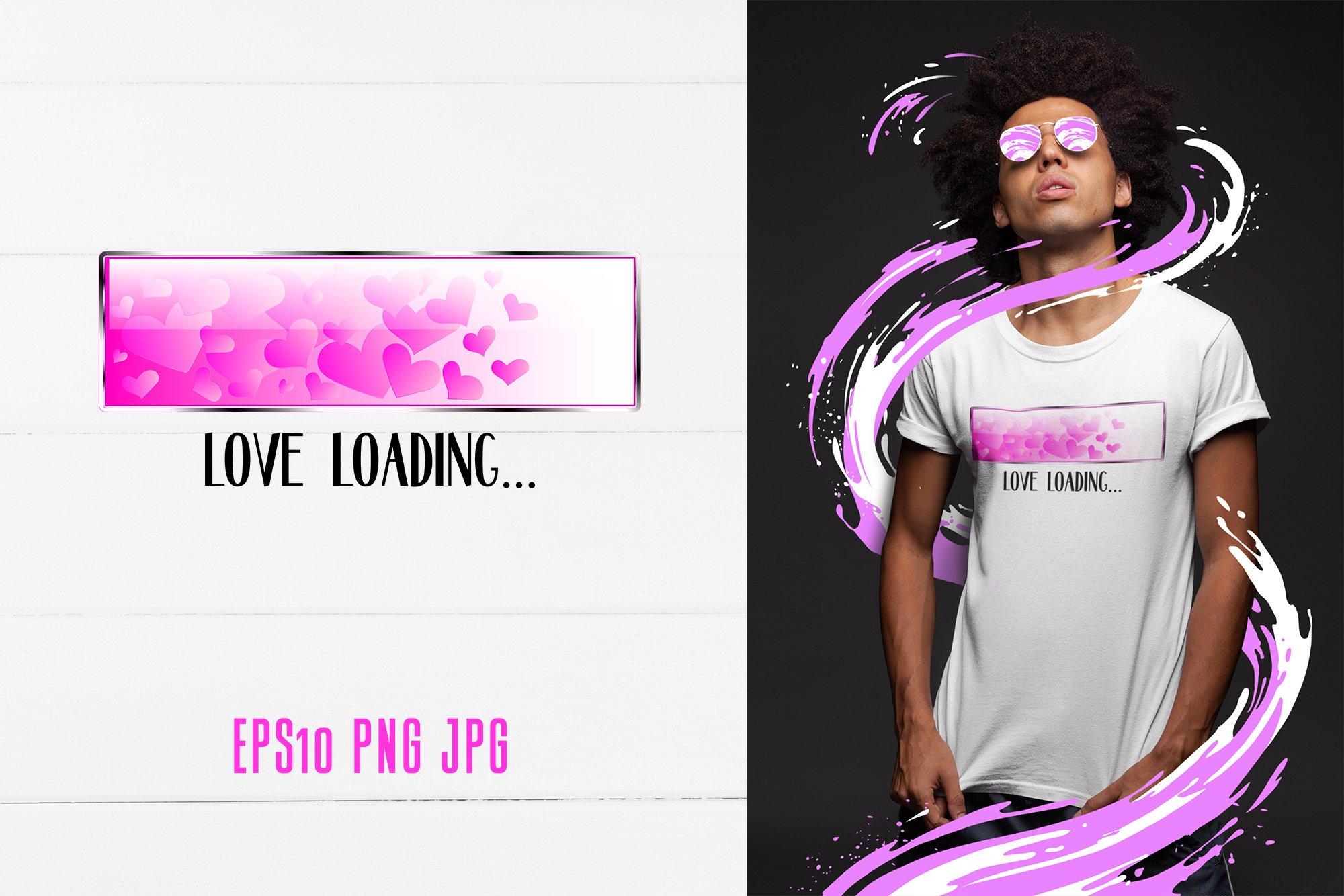 Download Love Loading Quote Valentine S Day Sublimation Design 1147577 Sublimation Design Bundles