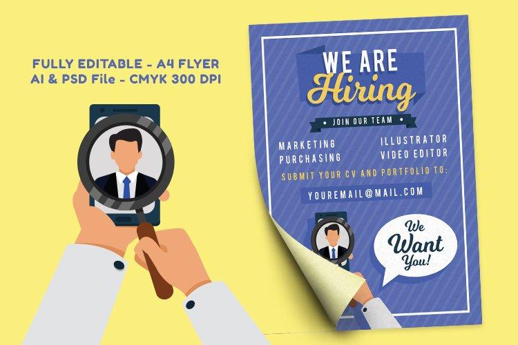 Job Vacancy Flyer vol. 1 example image 1