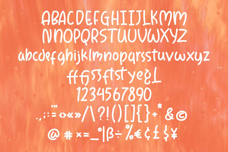 Degista - Fancy Monoline Font example image 7