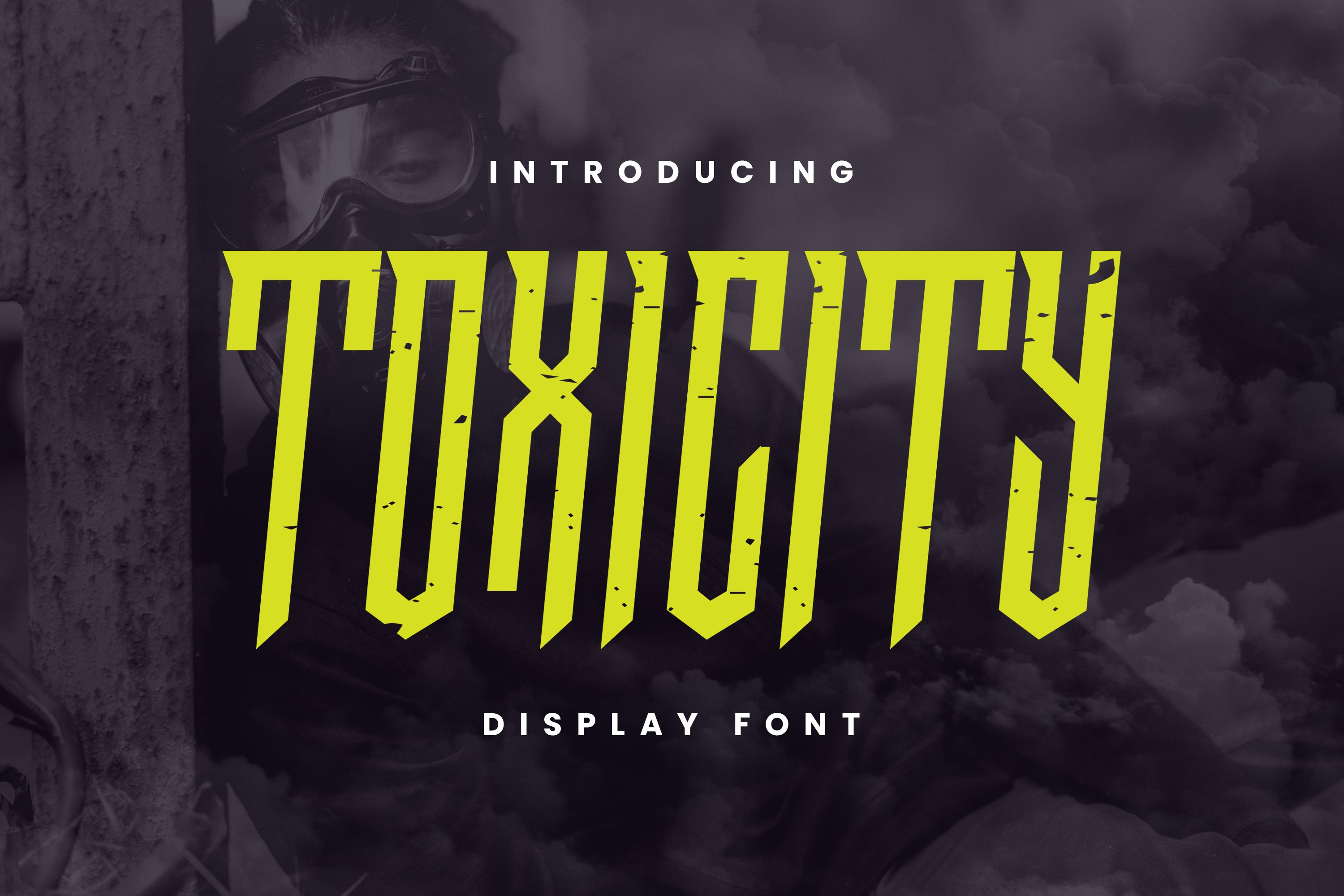 TOXICITY Font example image 1