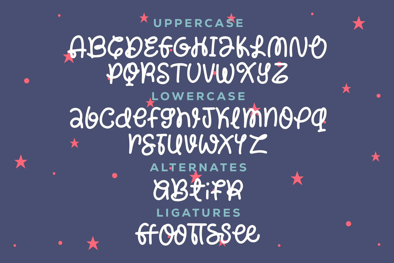 Dembina - Curey Chrisimas Font example image 3