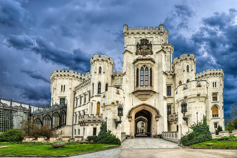 Medieval castle in the Czech Republic, Hluboka nad Vltavou example image 1