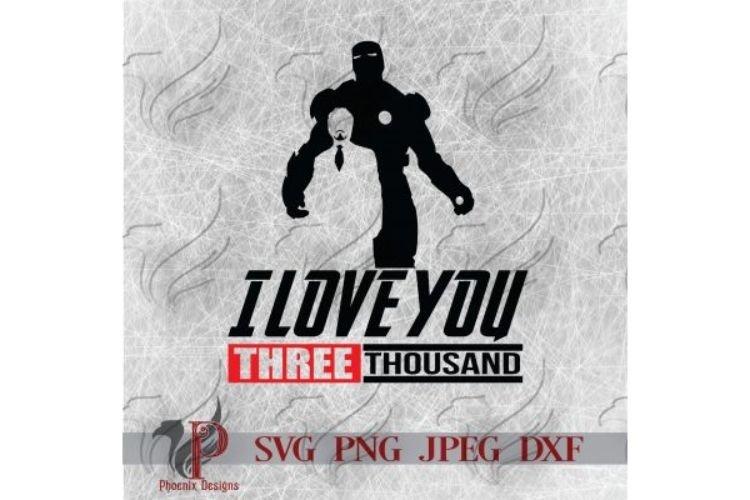 I Love You 3000 Svg Father S Day Parenting Dad Svg 299663 Cut Files Design Bundles