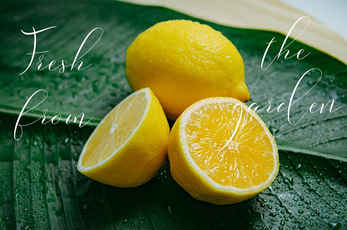 Lemonade Modern Calligraphy example image 4