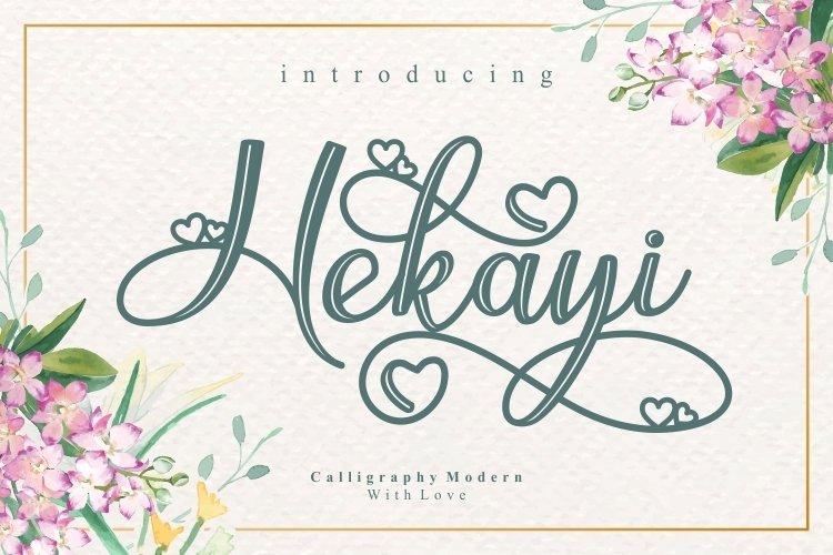 Hekayi example image 1
