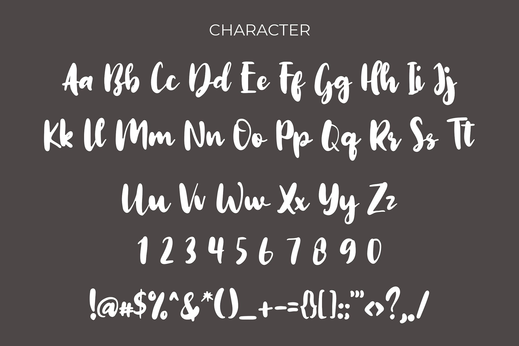 Omah Brush Script Font example image 5
