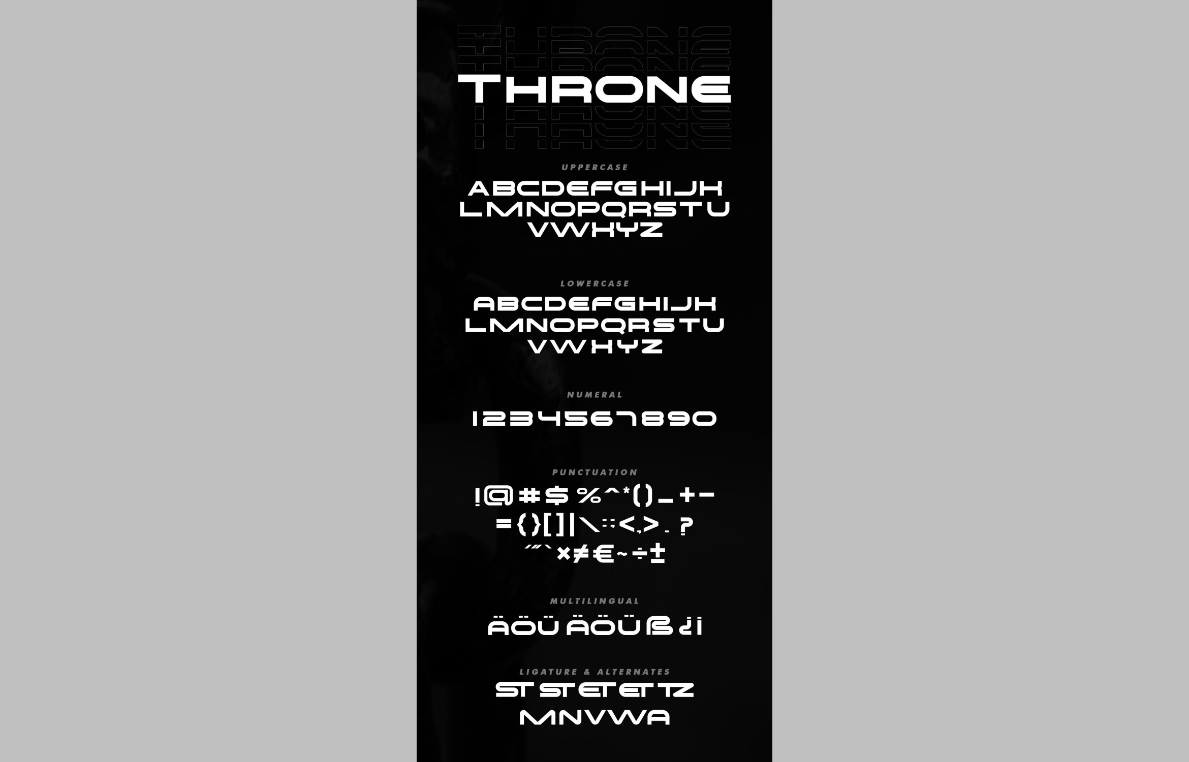 Throne - Rounded Sans Font example image 6