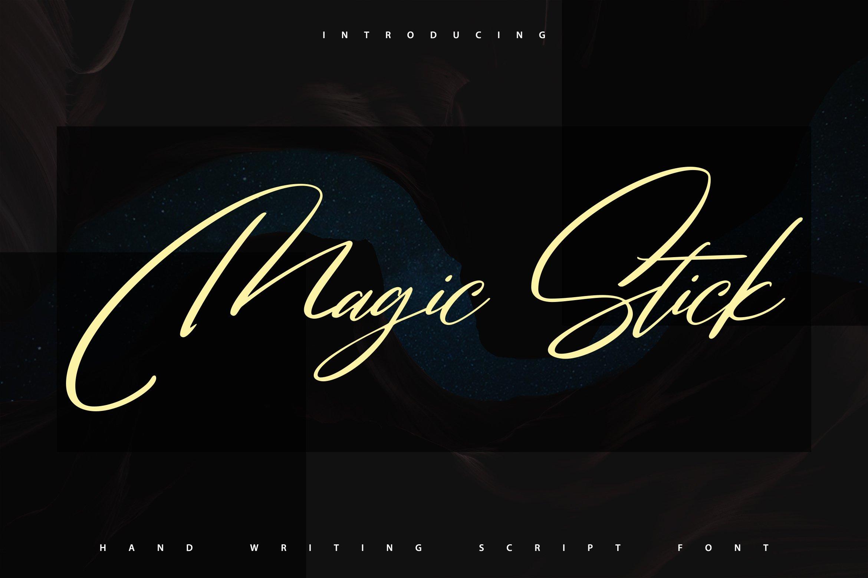 MagicStick | Handwriting Script Font example image 1