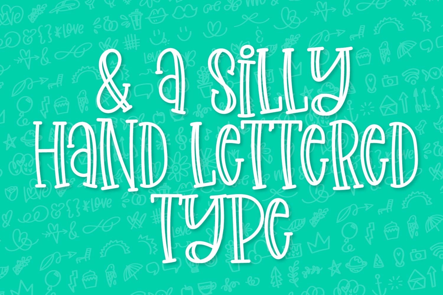 Sketchin - A Doodle & Font Duo example image 7
