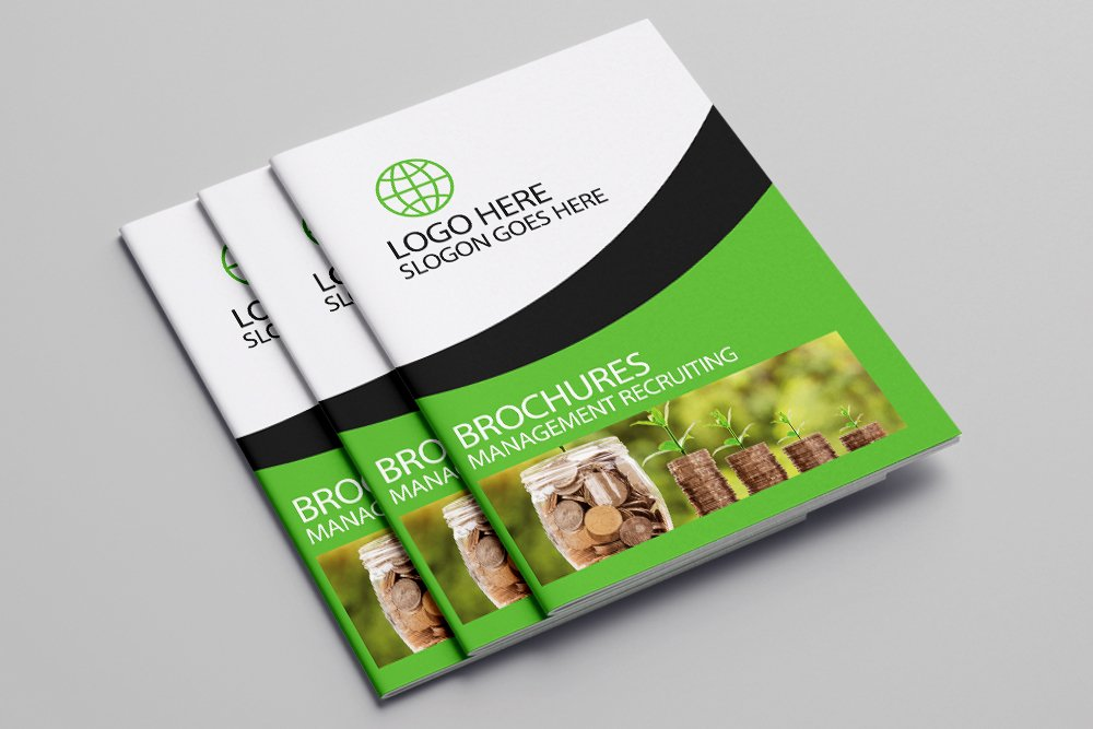 Business Agency Bifold Brochure 16 Pages example image 1