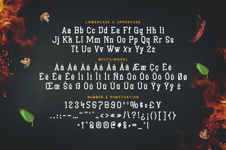 Barnard - Versatile Display Font example image 3