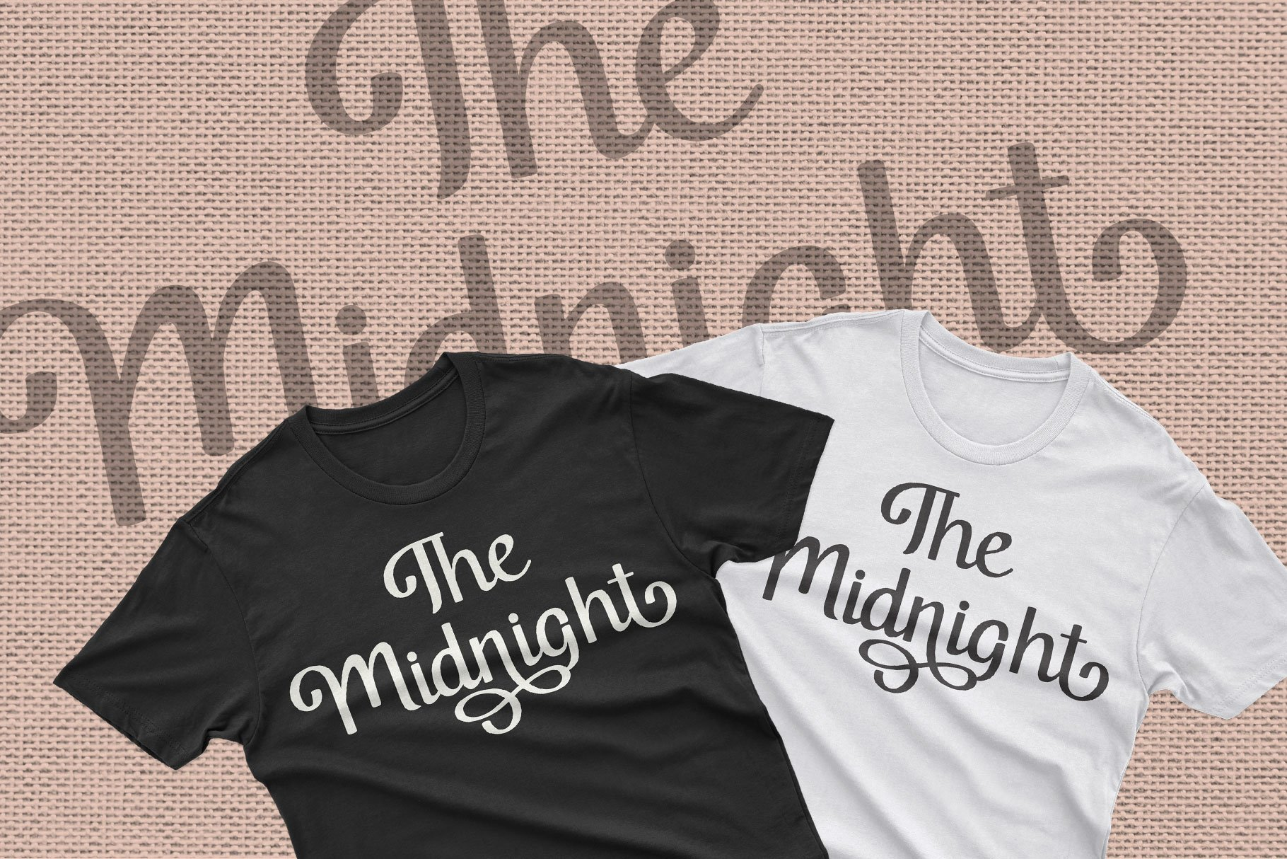 Midnight Script Font example image 6