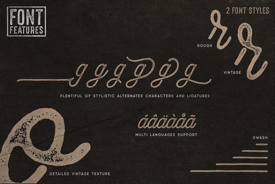Anchorage Vintage Script example image 9