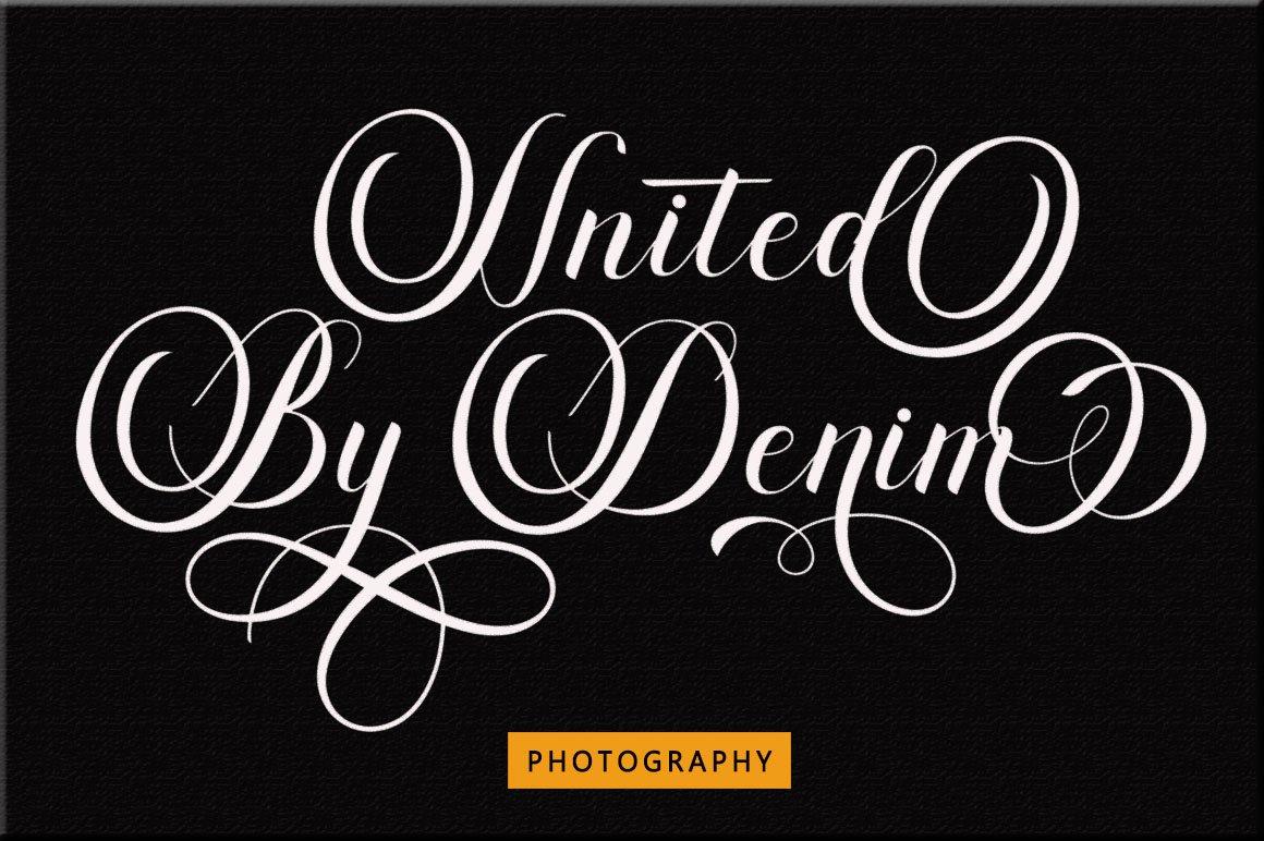 Dayton - Elegant Calligraphy example image 12