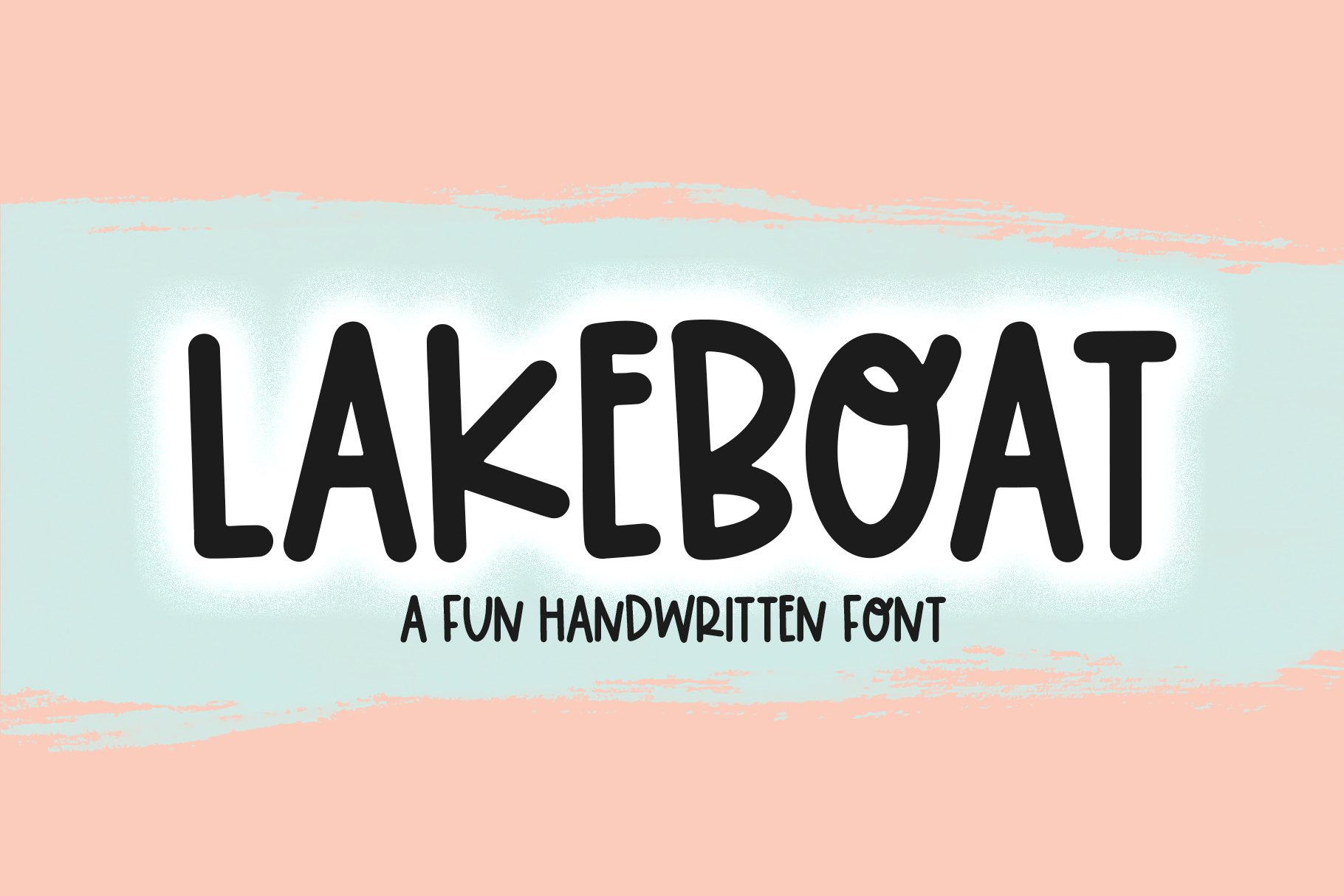 Lakeboat - A Quirky Handwritten Font example image 1