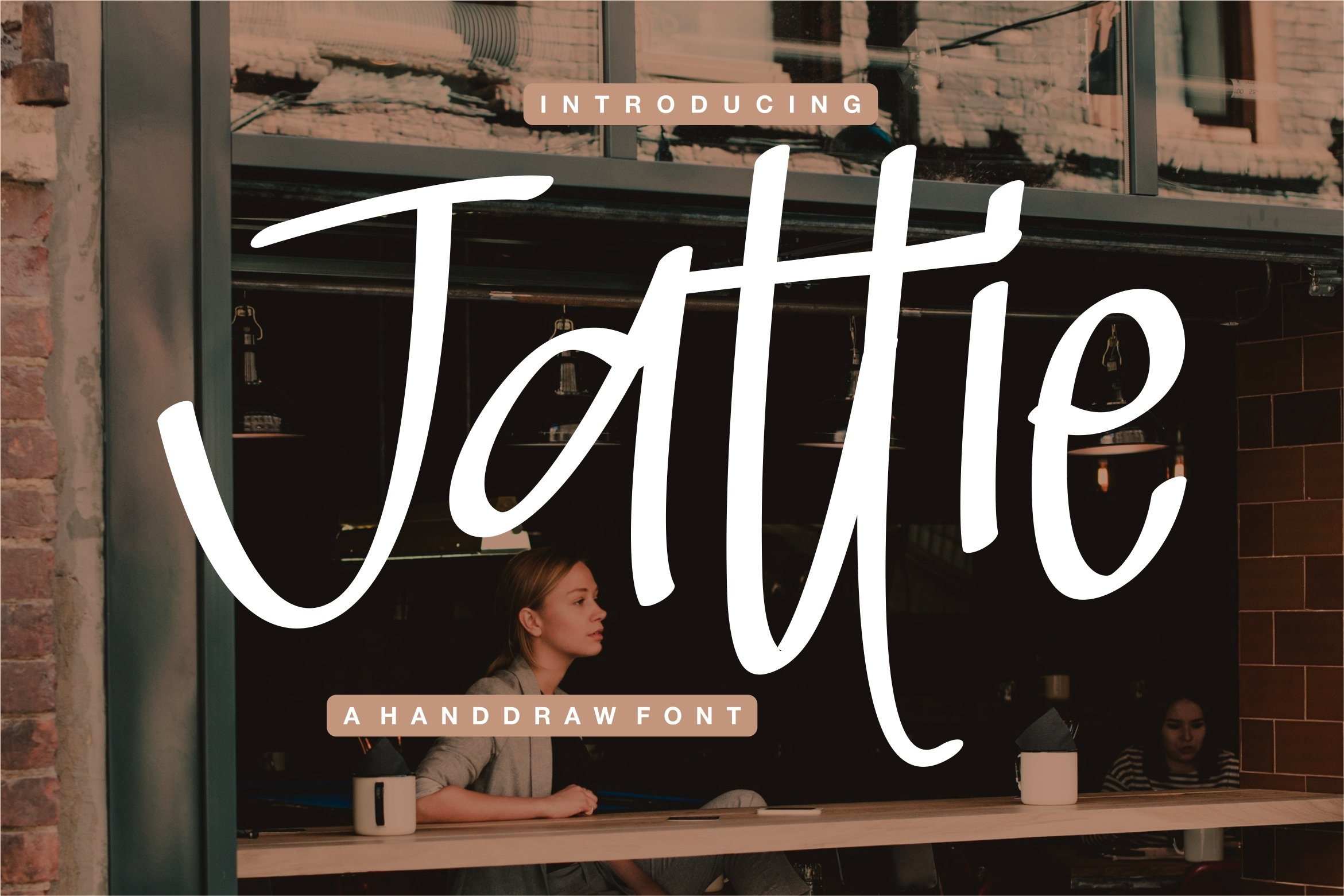 Jattie - A Handdraw Font example image 1
