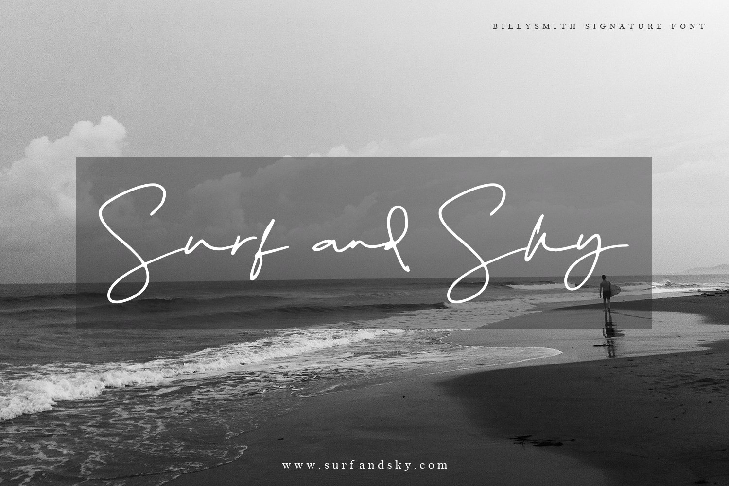 Billy Smith - Signature Font example image 9