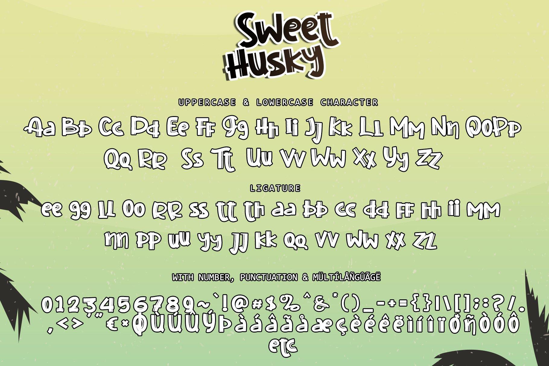 Sweet Husky example image 6