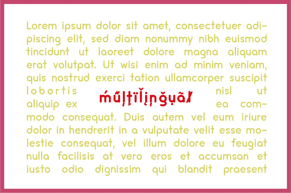 cream - complete font family example image 5
