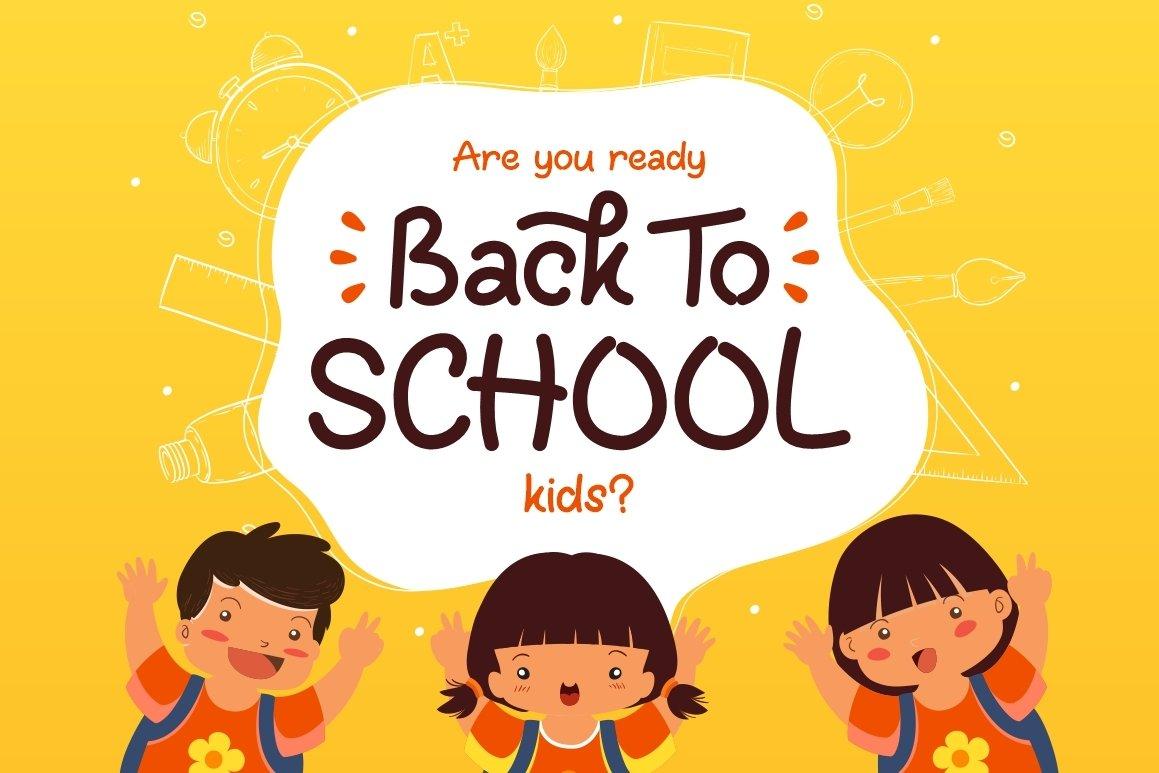 Fun Kids - Playful Font example image 8