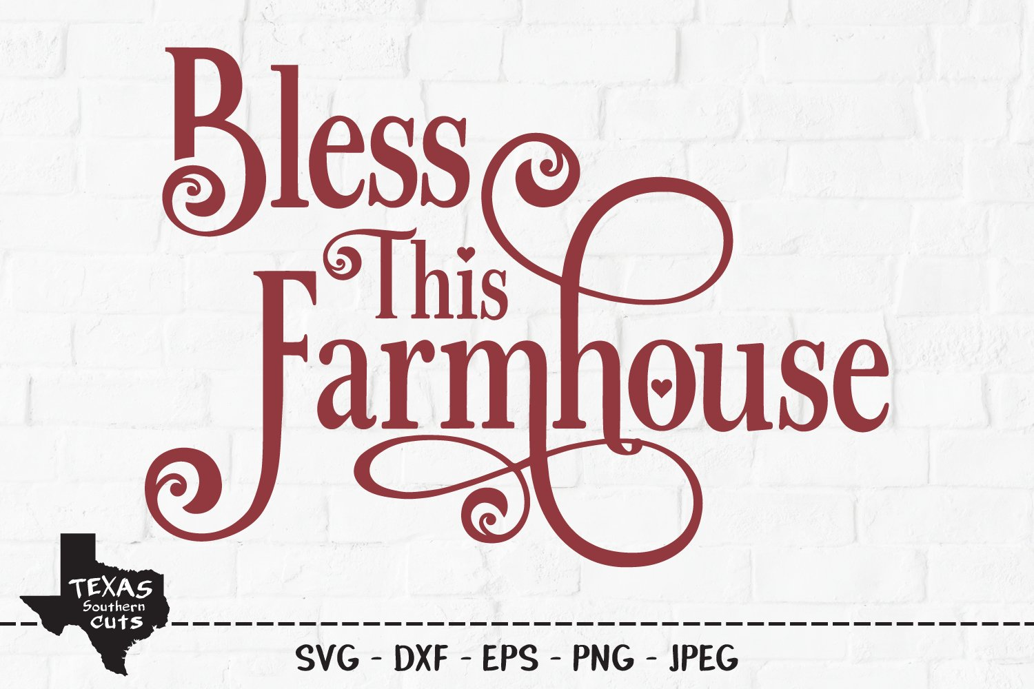 Bless This Farmhouse Svg Cut File Country Home Sign Design 368618 Svgs Design Bundles