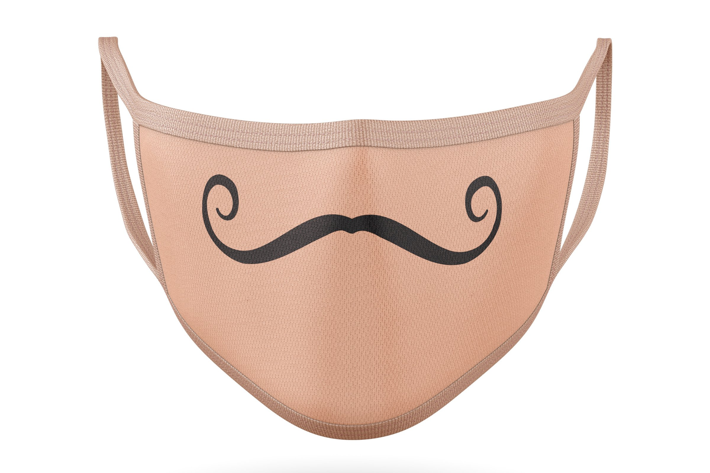 10 Funny Mustaches for Masks - SVG Cut Files example image 8
