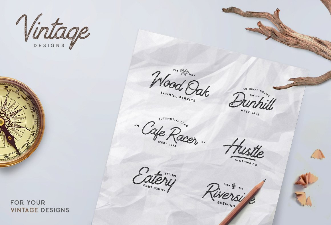 Outdoors Inks Script example image 7