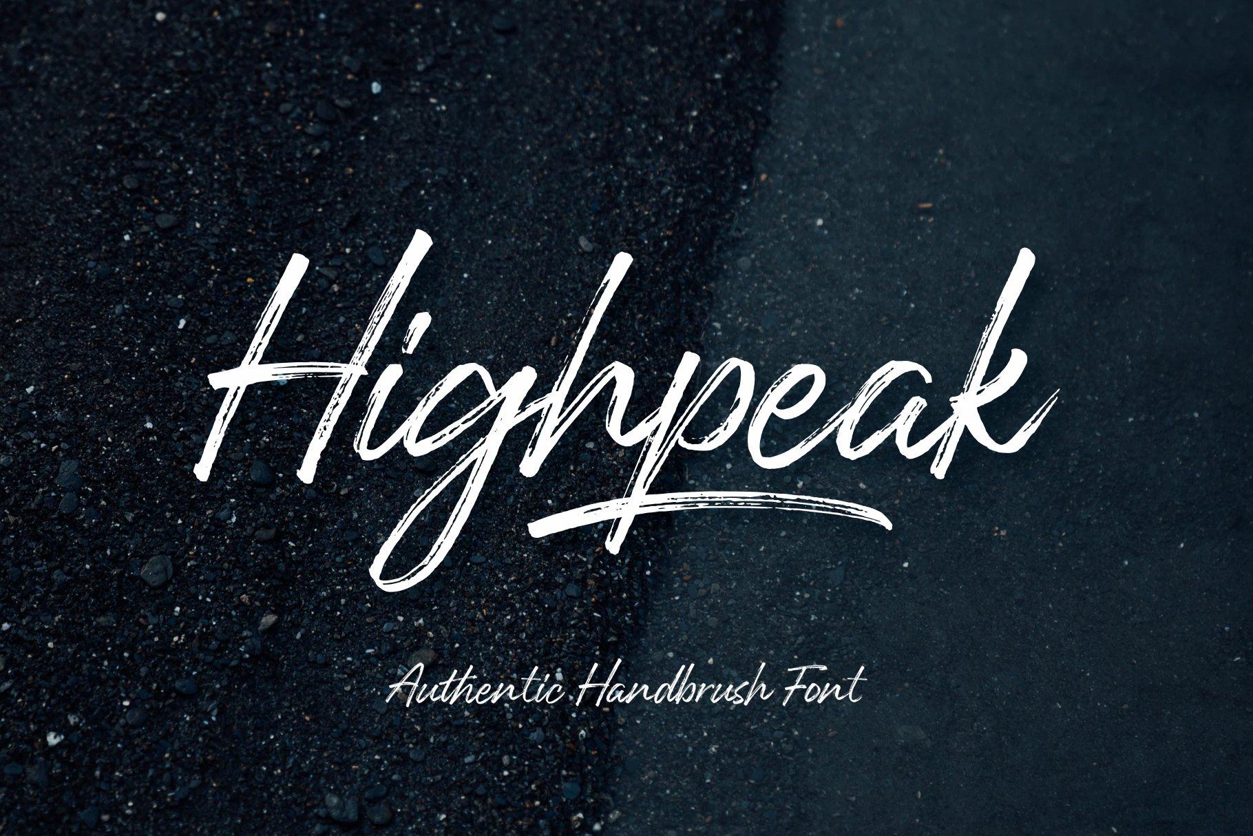 Highpeak example image 1