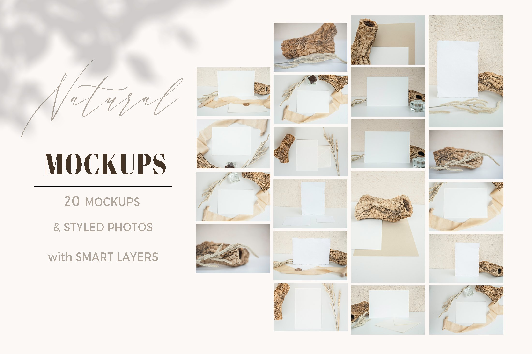 Natural. Mockup and style photos Soft and delicate nude. example image 5
