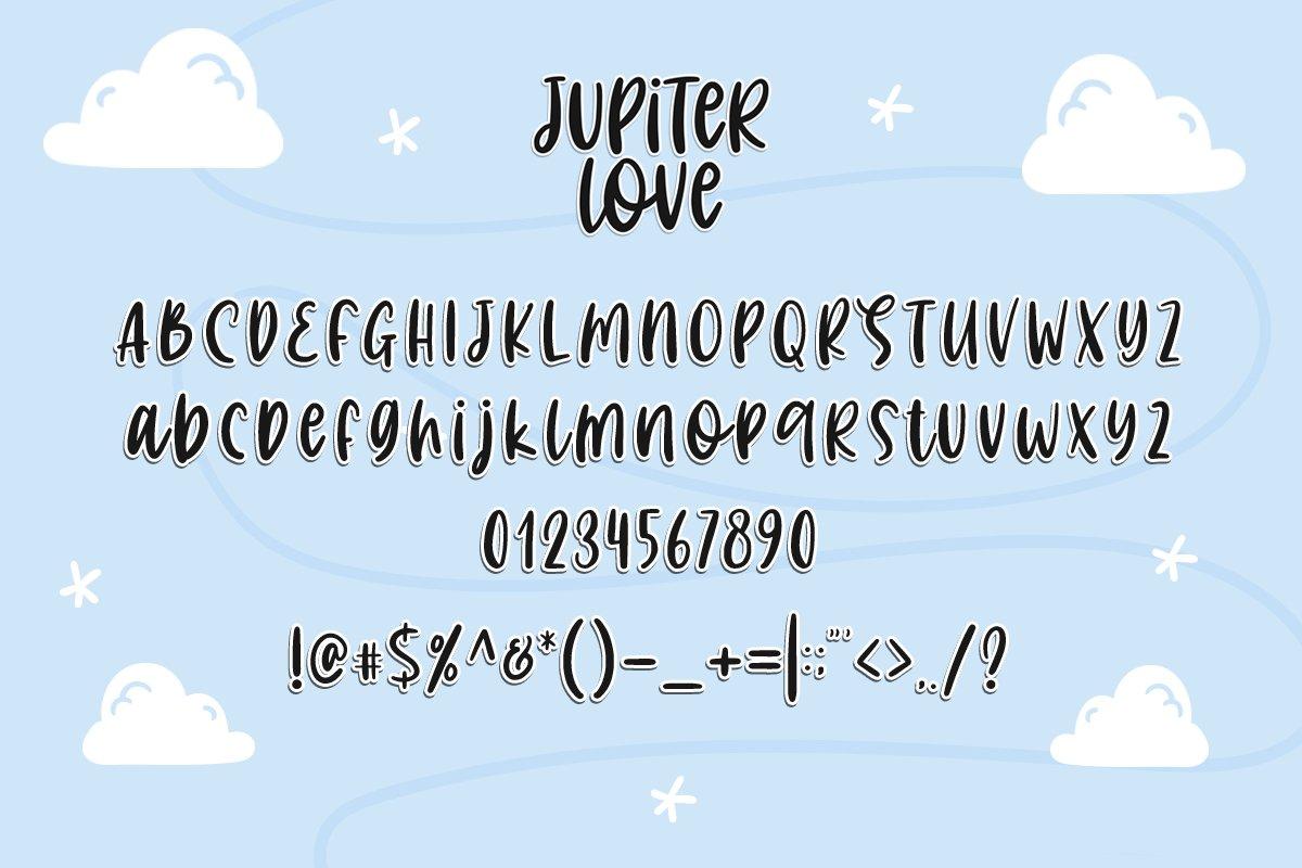 Jupiter Love | Handwritten Font example image 3