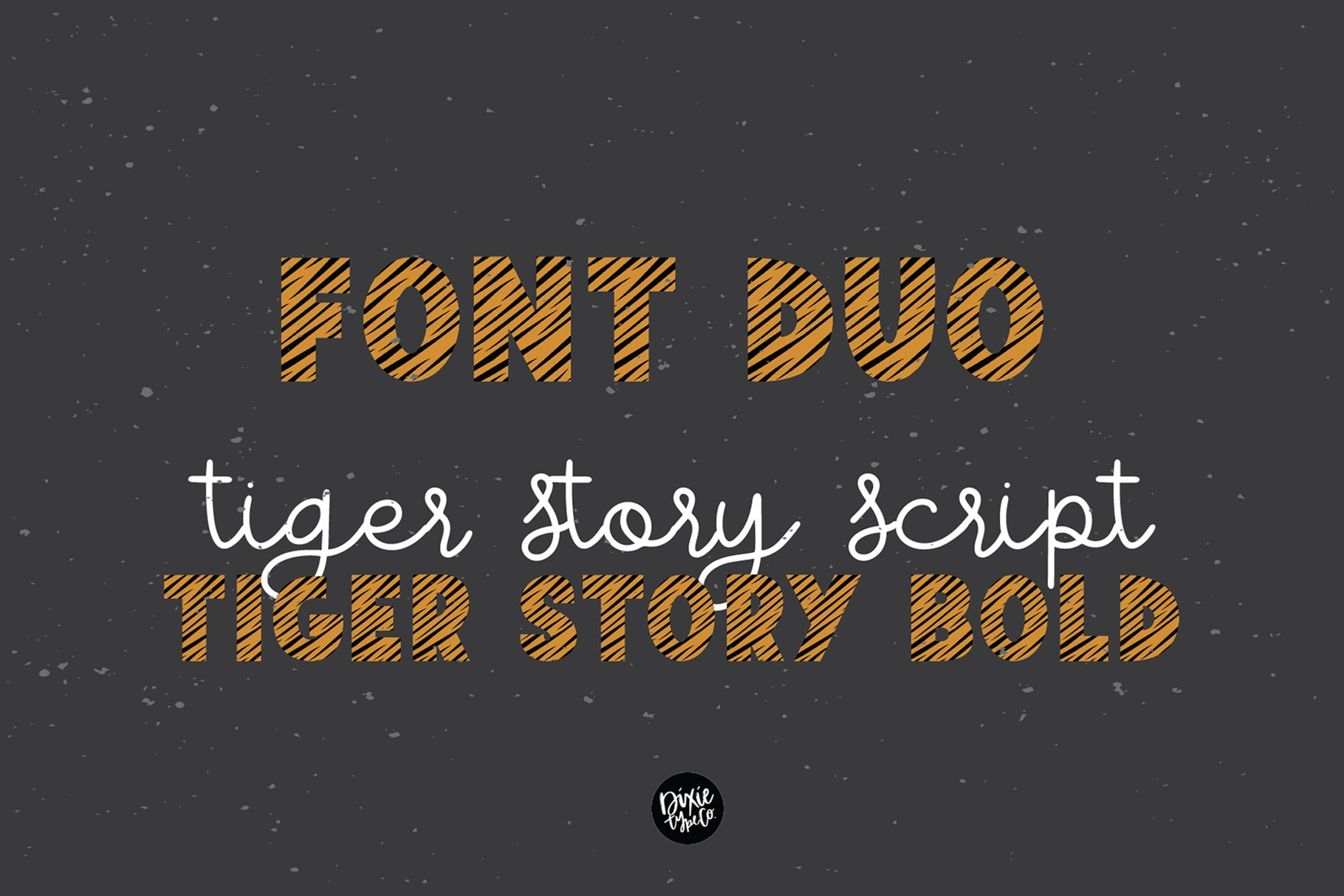 TIGER STORY Color Font Duo example image 6