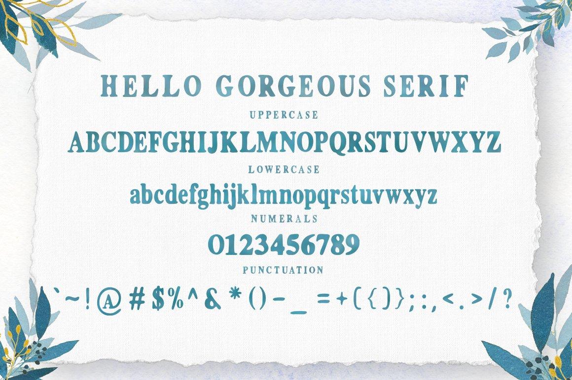 Gorgeous Script Font Trio example image 9