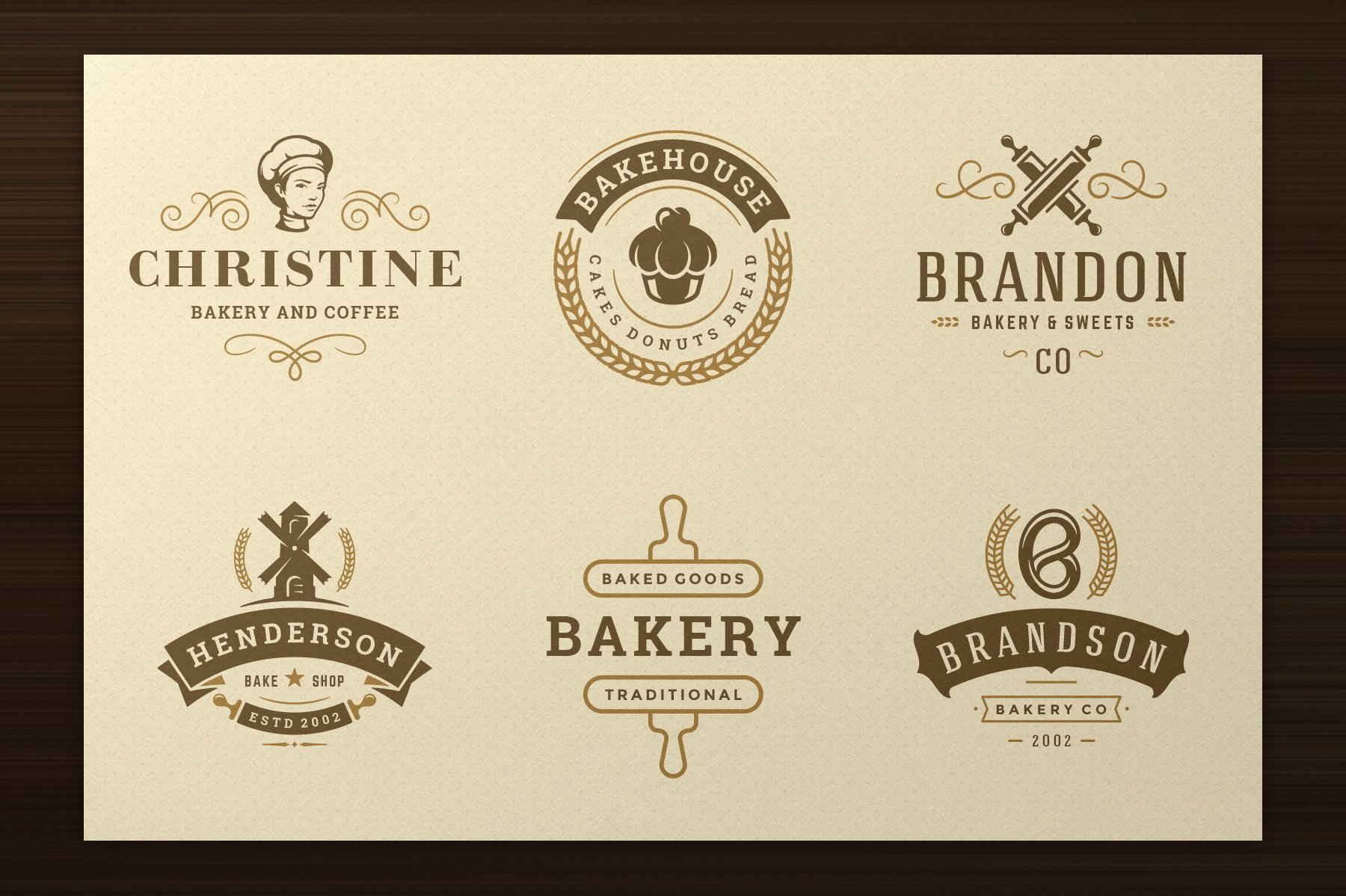 Bakery Logos and Badges example image 3
