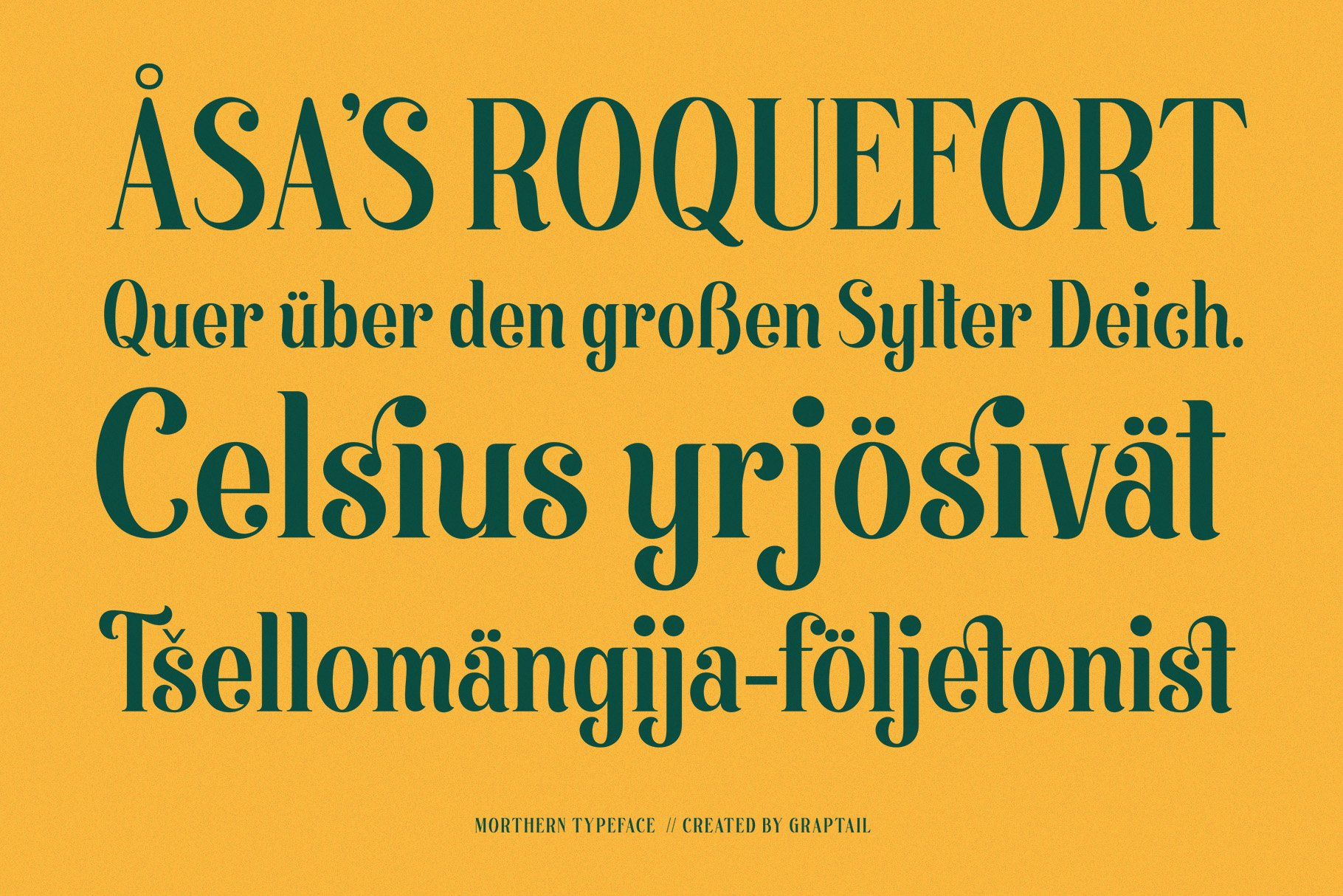 Morthern Font example image 9